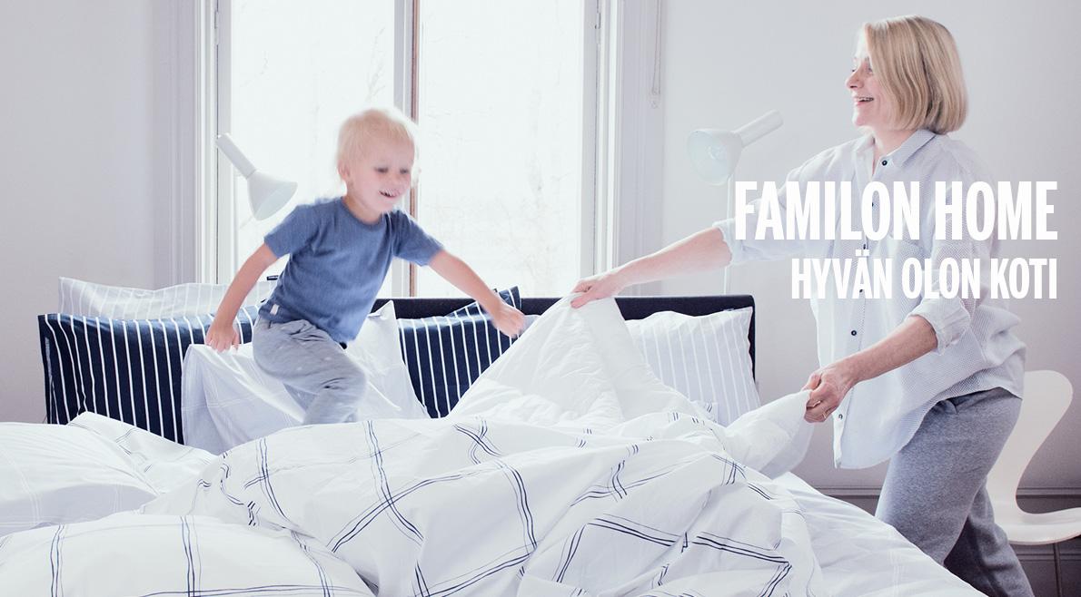 Familon Home -kodintekstiilit